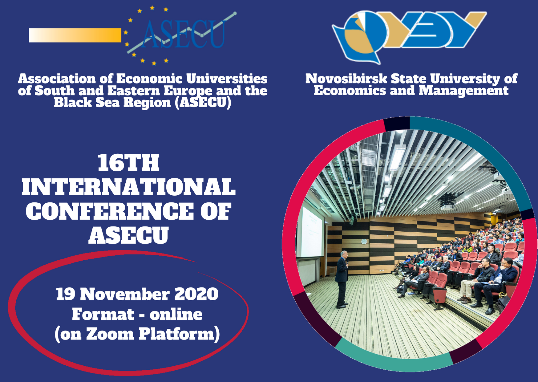 Submission of papers to the 16th International Conference of ASECU is open