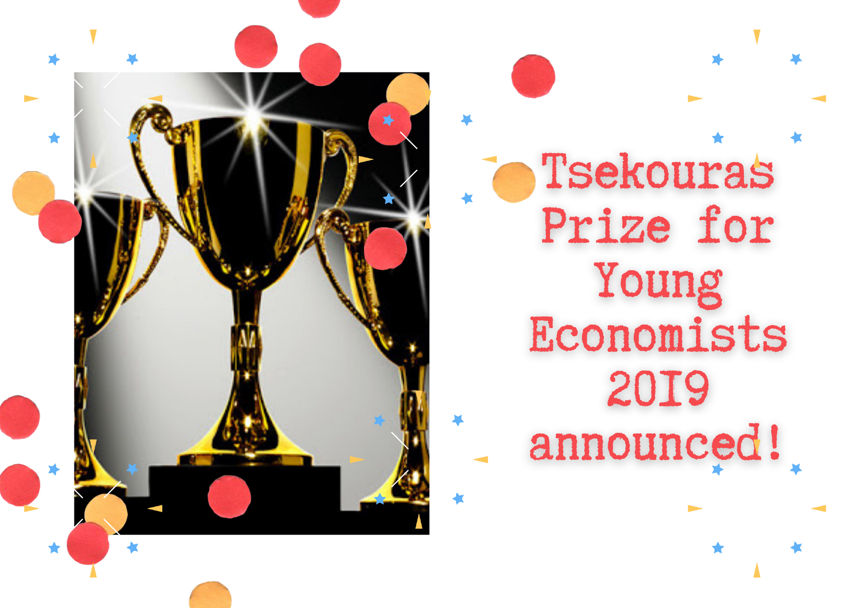 Tsekouras Prize for Young Economists winner 2019 announced!