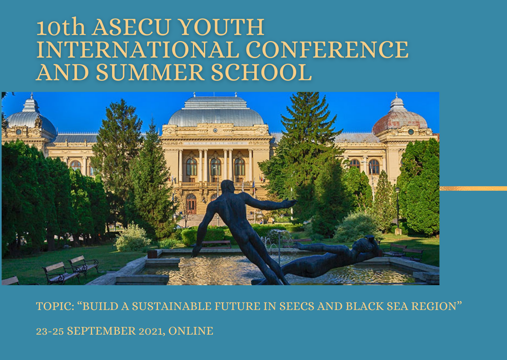 Call for the 10th ASECU Youth International Conference and Summer School for students and PhD students is open!