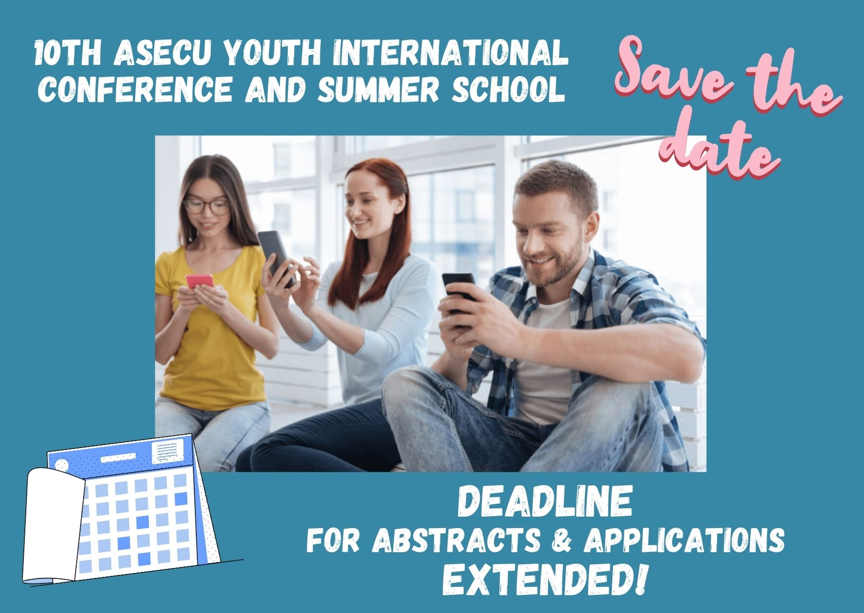 New extended deadline for abstract & application submission to the 10th AYIC&SS!