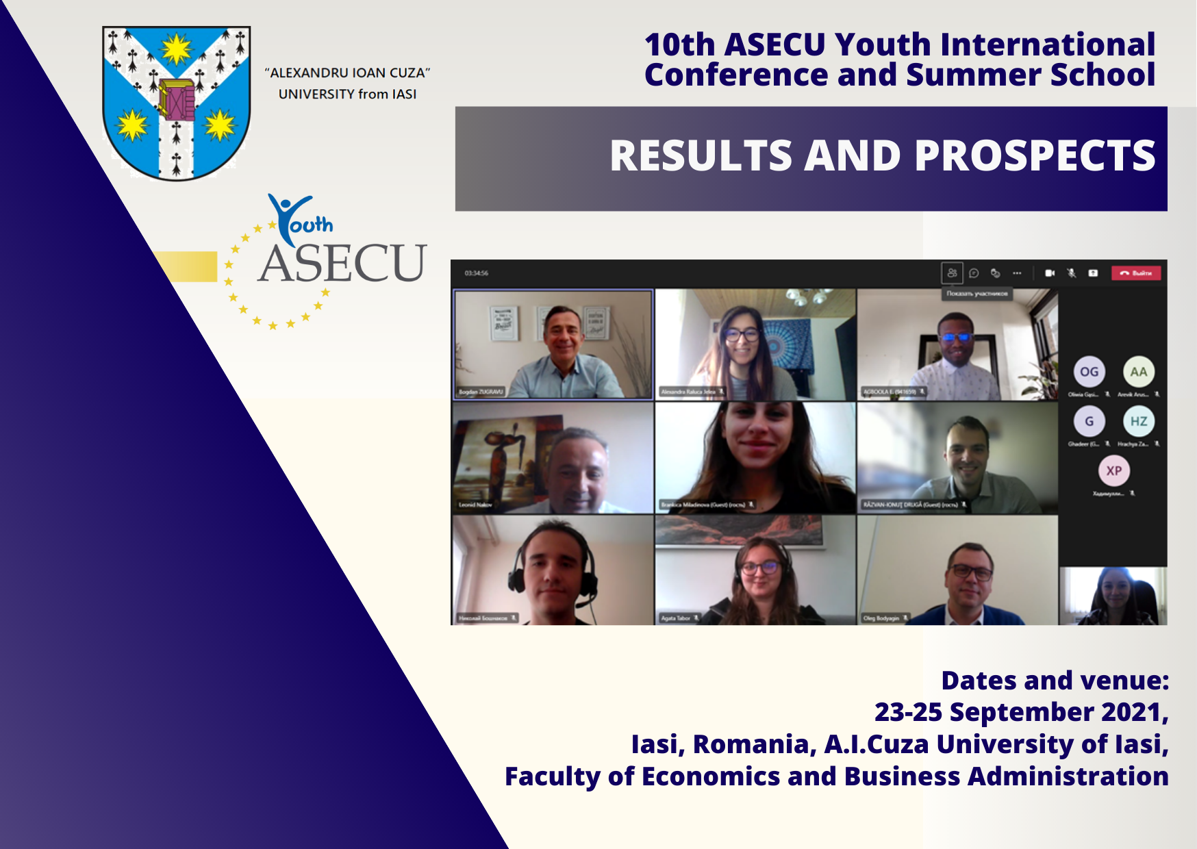 Main outcomes and results of the 10th Anniversary AYIC&SS