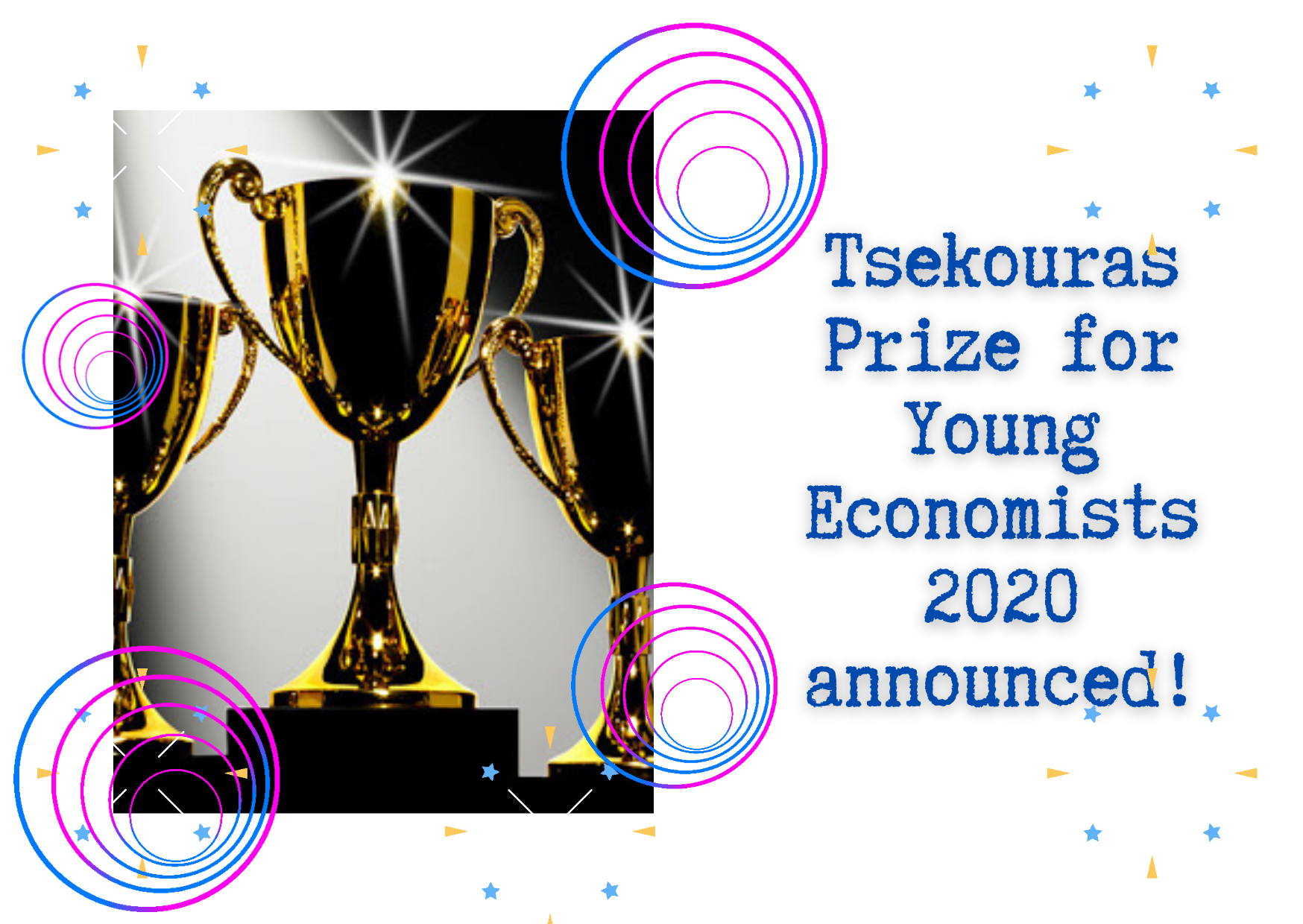 Tsekoras Prize Winner for Young Economists 2020 announced!